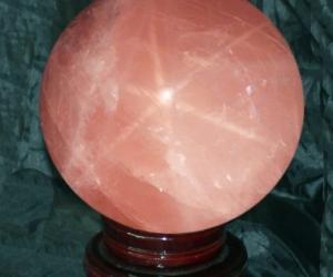 Bi thạch anh hồng sao vật phẩm phong thủy mang nhiều tốt lành