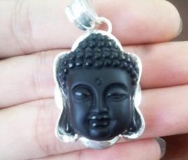 Mặt dây chuyền Phật tổ đá Osidian mang lại bình an thịnh vượng
