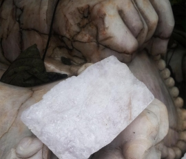 Thạch anh vụn trắng dải nền nhà - TAT 03