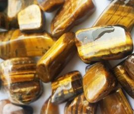 Thạch anh vụn vàng loại bóng tự nhiên